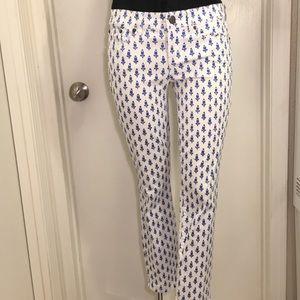 Women's Toothpick J.Crew Work Pants Size 27 White
